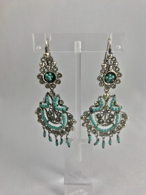 Aretes Filigrana / Filigree Earrings Plata Sterling .925