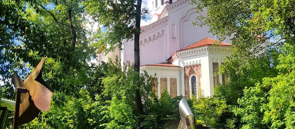 Hiking in the heart of Vilnius