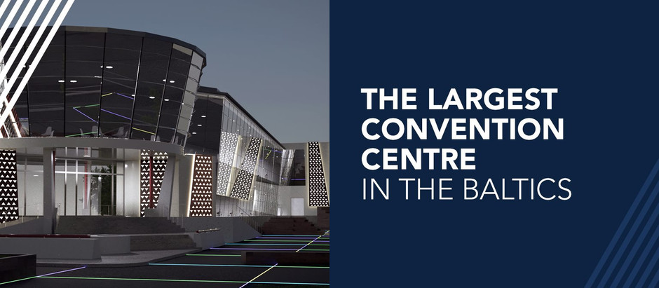First and largest in the Baltics - ATTA congress centre in Riga!