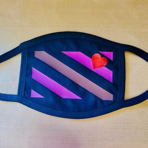 LGOC Flag Flat Black Mask