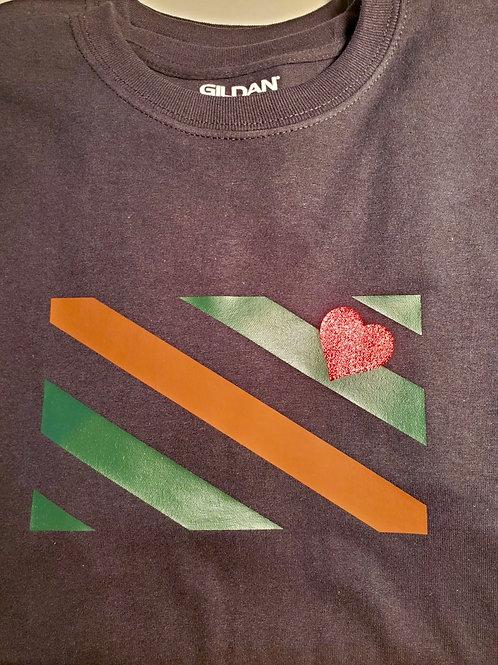 LBOC Flag Black T-Shirt