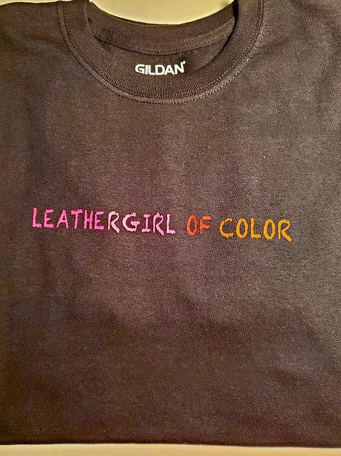 LGOC Lettered Black T-Shirt