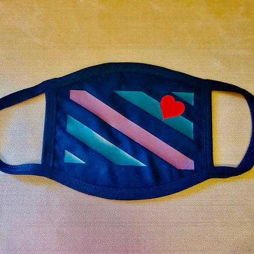 LBOC Flag Flat Black Mask