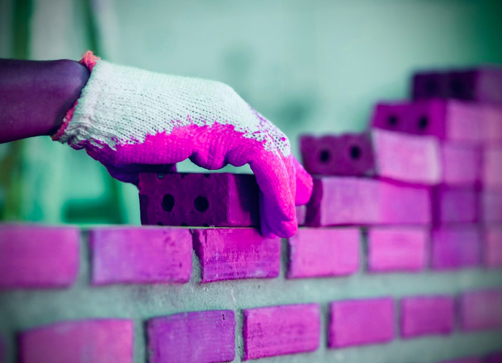 Many may only see the bricks being laid and never notice what holds it all TOGETHER.