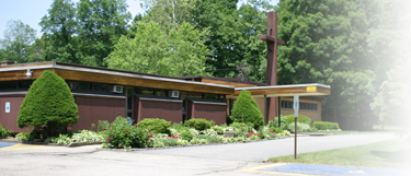 Outside of Church