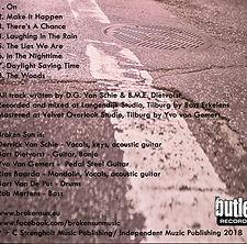 CD Digipak 4p 1t 1s BROKEN SUN HOES ALBU