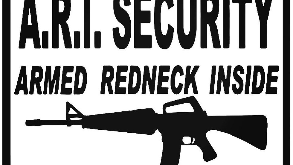 A.R.I. Security Decal
