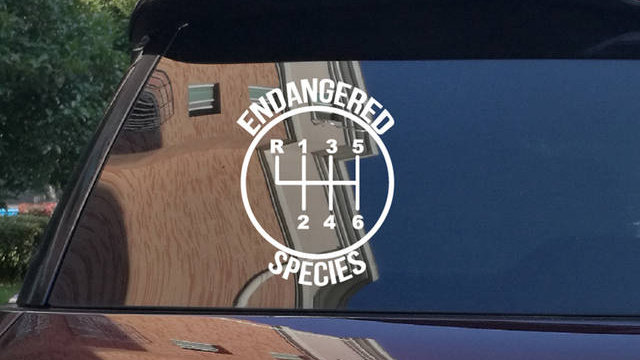 Endangered Species Decal