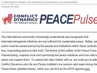 CDI Peace Pulse Sept-Oct 2020