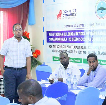(SONSA Picture) Baidoa Platform Workshop