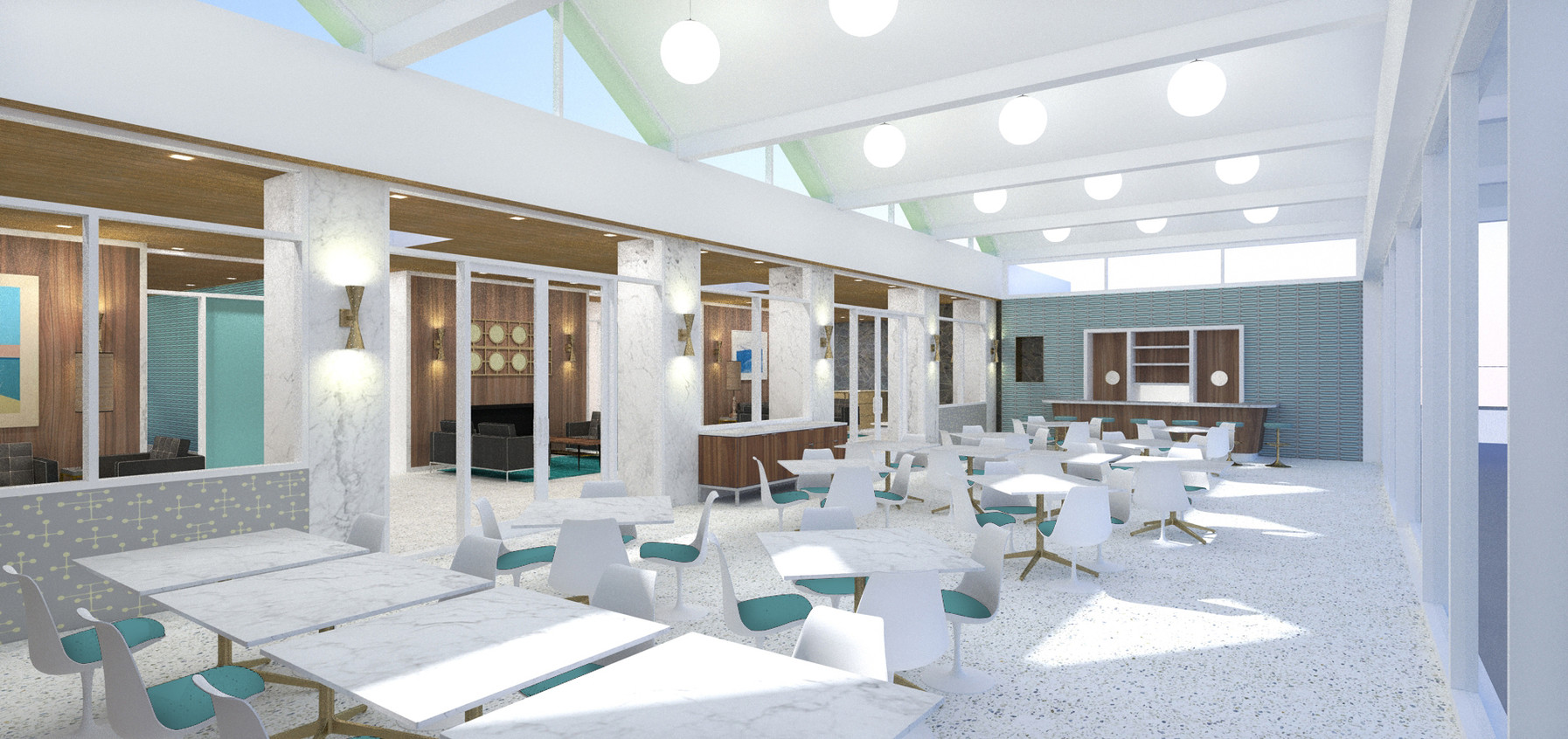 skyview - cafe interior perspective (tur