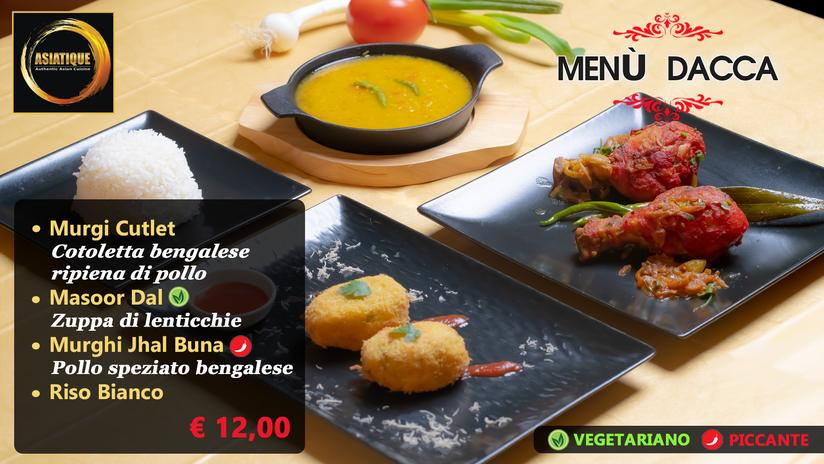 Menù Dacca  € 12,00