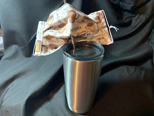 Coffee Sipping Mask