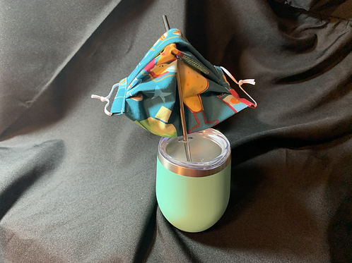 Tropical Cocktails Sipping Mask