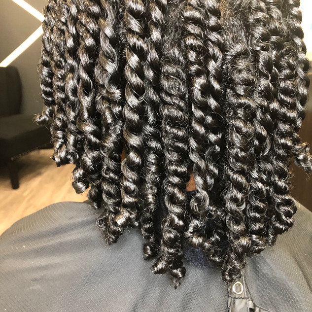 Twist out (returning clients only)
