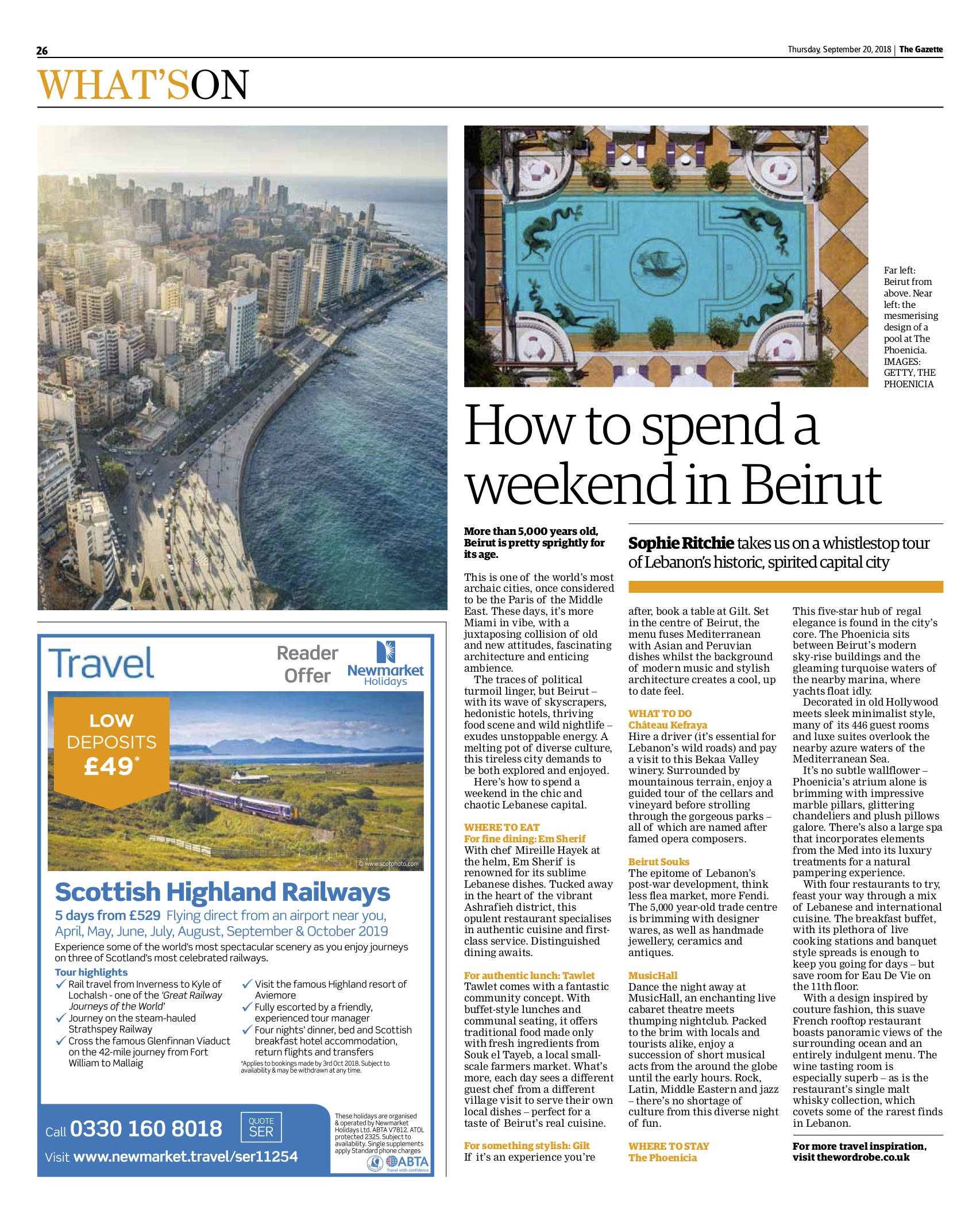 Beirut feature