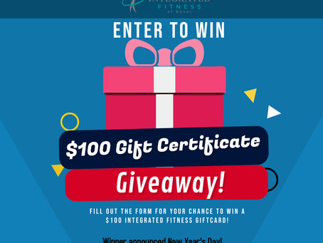 Enter to Win a $100 Integrated Fitness Gift Certificate