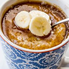 Banana Oat Mug Cake