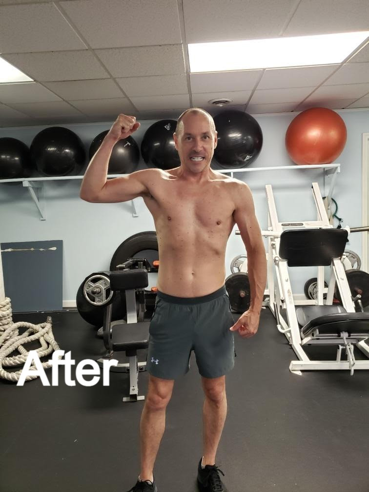 J Greenwood gets fit at Integrated Fitness of Dover