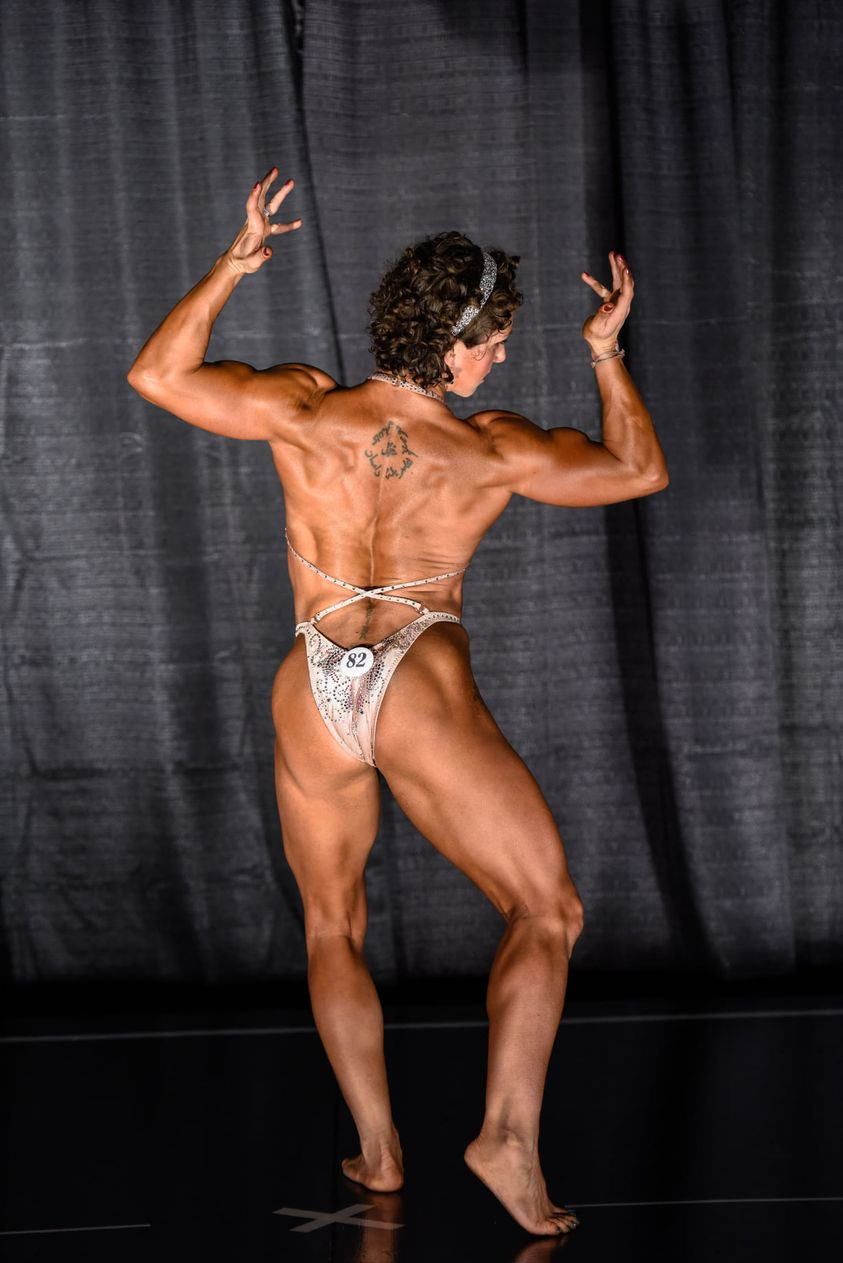 Candace Lord, owner of Integrated Fitness of Dover, at NY Natural show 2020