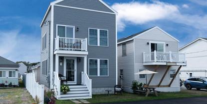 Hubert Krah Design - New retirement home based on cottage (left)