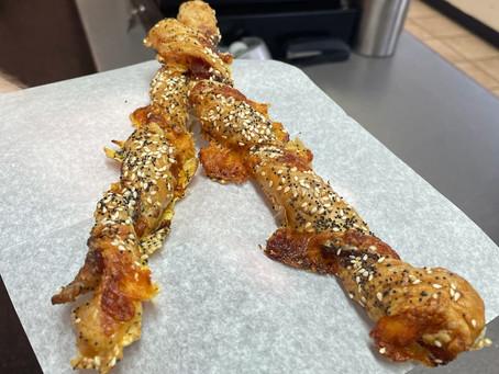 Bacon Cheddar Twists