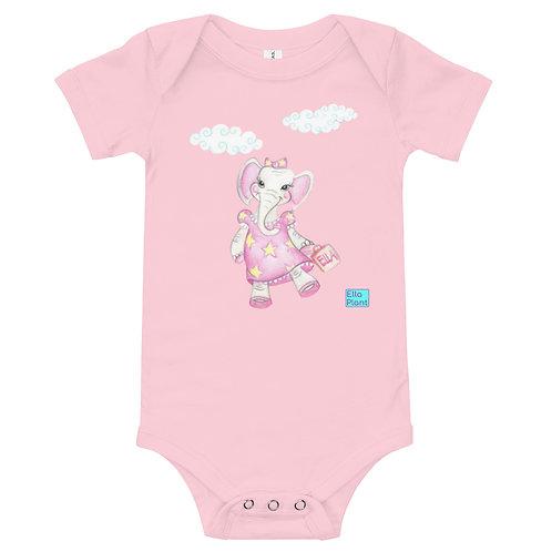 Ella Plant Baby Short Sleeve Bodysuit