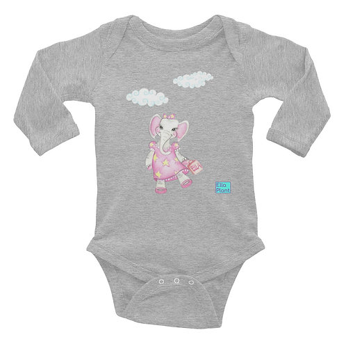 Ella Plant Baby Long Sleeve Bodysuit