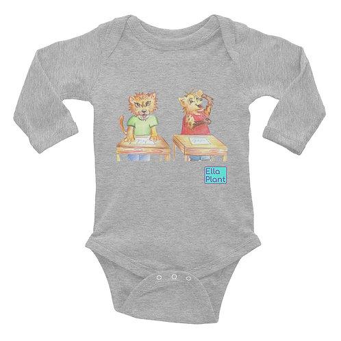 Leon & Hye Baby Long Sleeve Bodysuit
