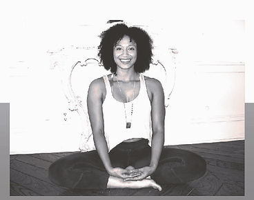 Black and White Yogi Meditation Seat. Photo Credit: Kumi Yogini at The Culver Hotel