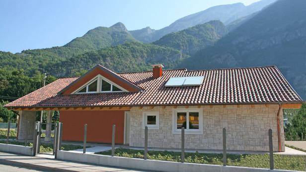 Villa in bioedilizia in campagna