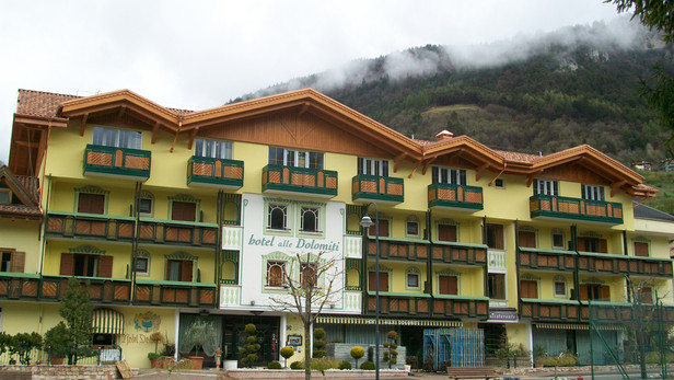 Hotel in bioedilizia