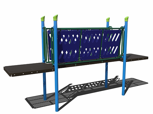 Funnel Bridge with HDPE Barriers