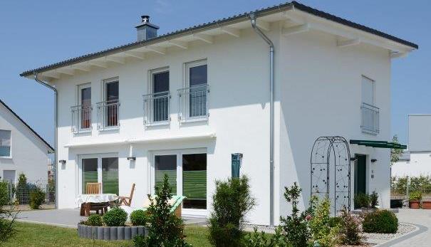 Villa in stile coloniale in bioedilizia