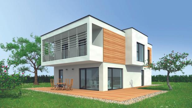 Villa designe Cube