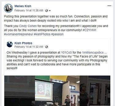 Testimonial Mentoring Melis Kish Feb 202