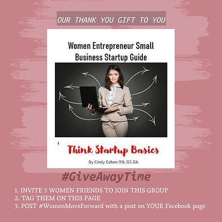 Giveaway Steps Women Move Forward