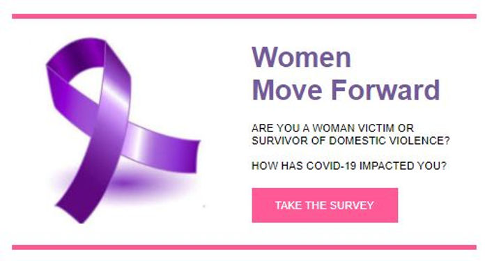 Take the survey women move forward.JPG