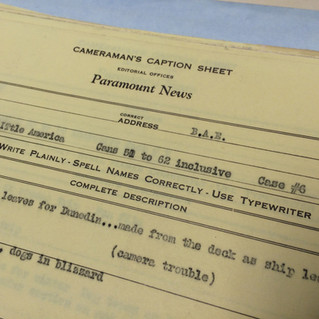 Archival research and finding the film in the stone.