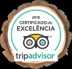 CERTIFICADO DE EXCELENCIA TRIP ADVISOR 2018