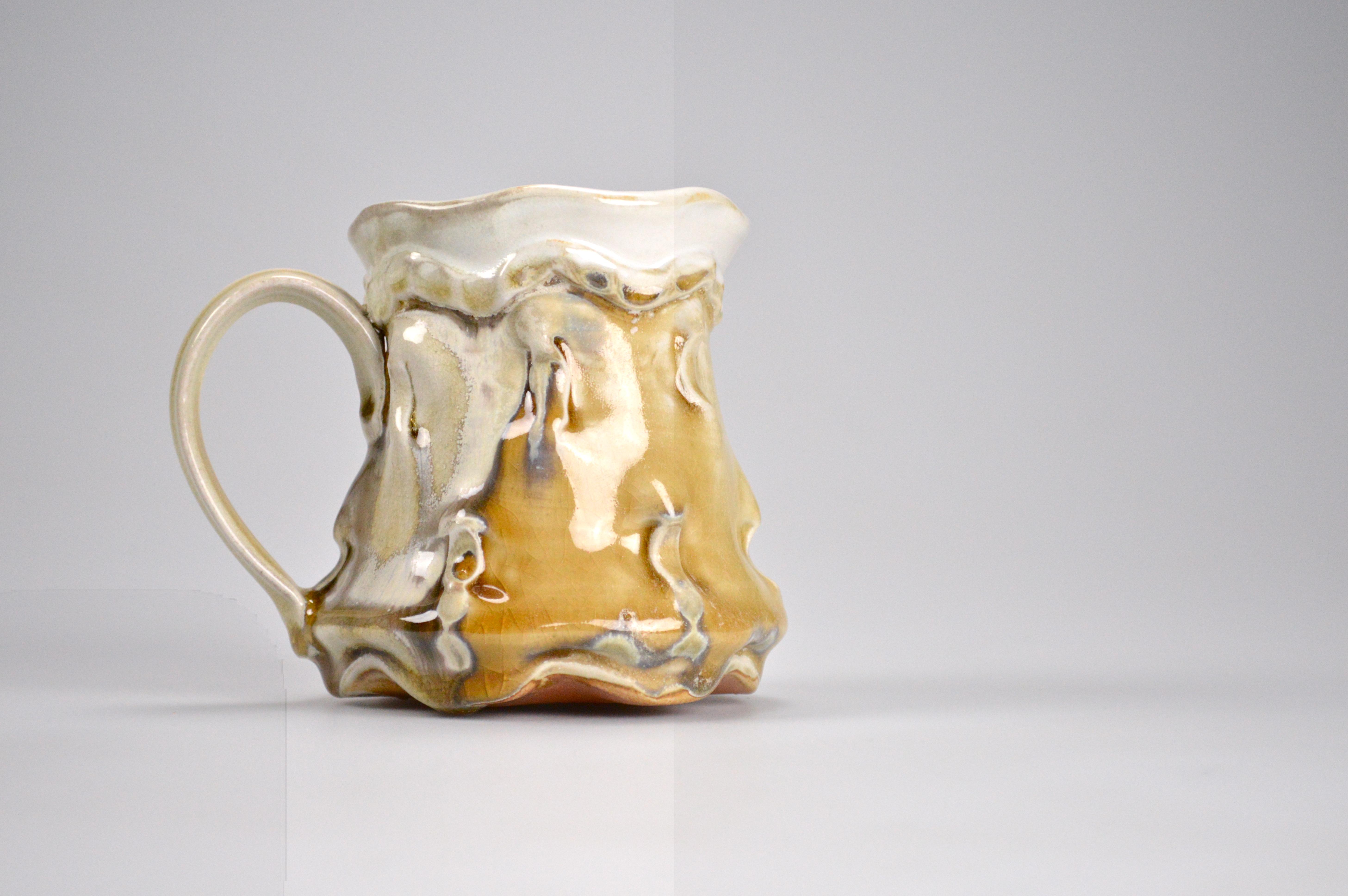 Tall Pinched Mug