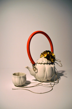 Tea for One, Red Tube and Bow