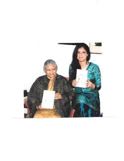 Mrs. Sheila Dikshit & Rupangi Sharma