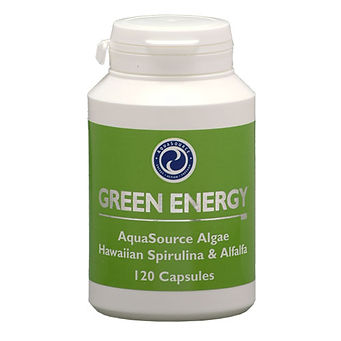 Green Blue Algae, Spirulina and Alfa Alfa