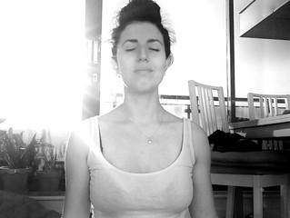 Just some fun bump yoga in the morning