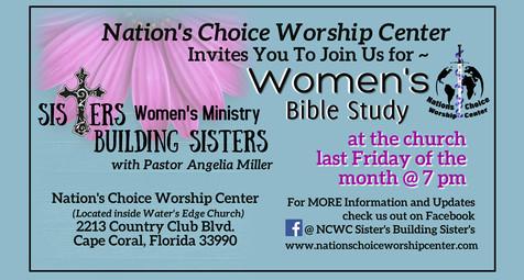 Womens Bible Study at Church