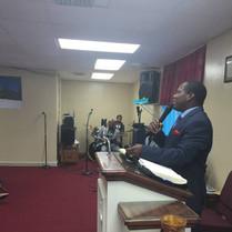 Pastor Patrick (NCWC Cape), guest speaker @ Miami Location Dec 2017