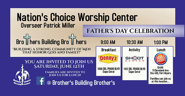 NCWC Fathers Day June 12 2021