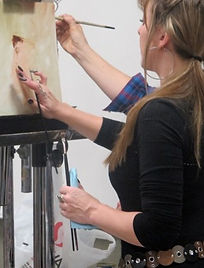 Molly Schmid at Scottsdale Art School