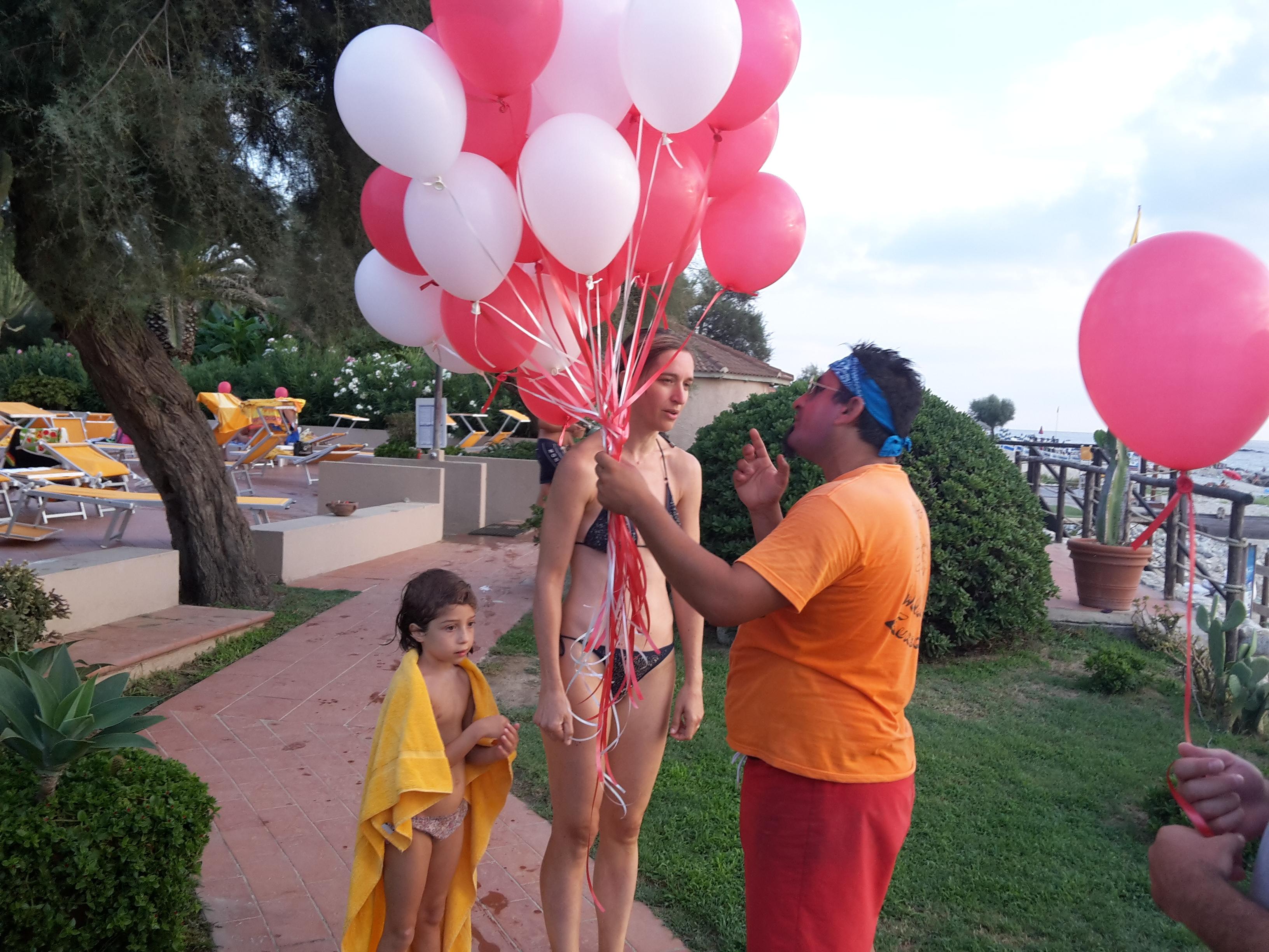 eventi di animazione palloncini